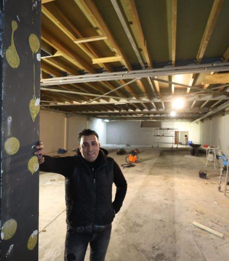 Mansouri Gym in Helmond is verhuisd: Even geen kickboksen, maar slopen en metselen