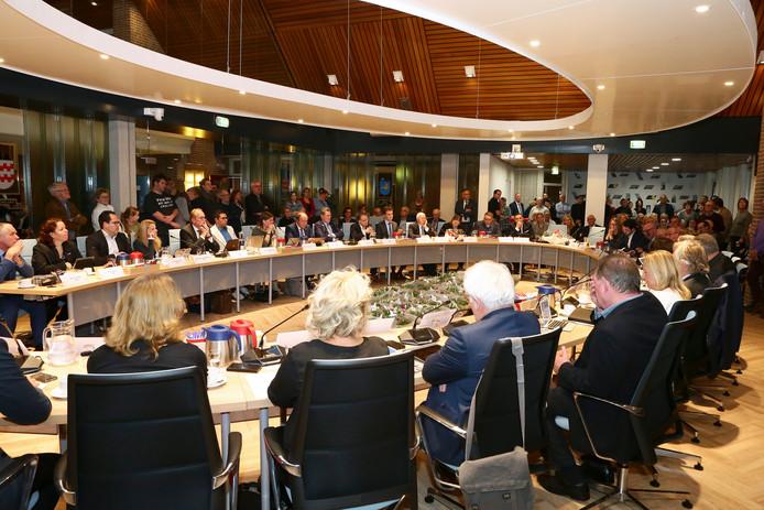 Raadsvergadering van college b&w Vijfheerenlanden. Foto ter illustratie.