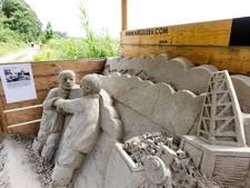 Zandsculpturenroute in Kuinderbos is grote publiekstrekker