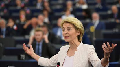 LIVE. Von der Leyen krijgt nu toch steun van socialisten in Europees parlement, stemming begonnen