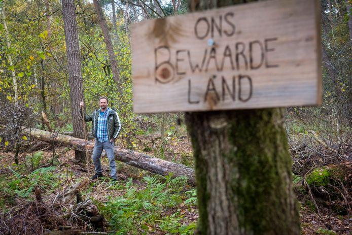Paul Vrenken heeft een voedselbos aangelegd.