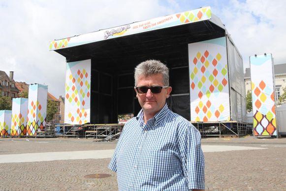 Organisator van het Tiense stadsfestival Suikerrock, Walter Kestens, kondigde het afscheidsnieuws aan.