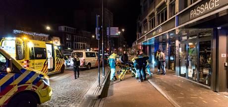 Agent gewond na val van fiets centrum Tilburg