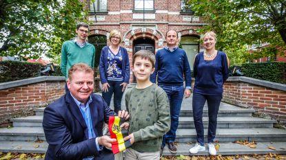 Mauro De Block is allereerste kinderburgemeester van Oudenburg