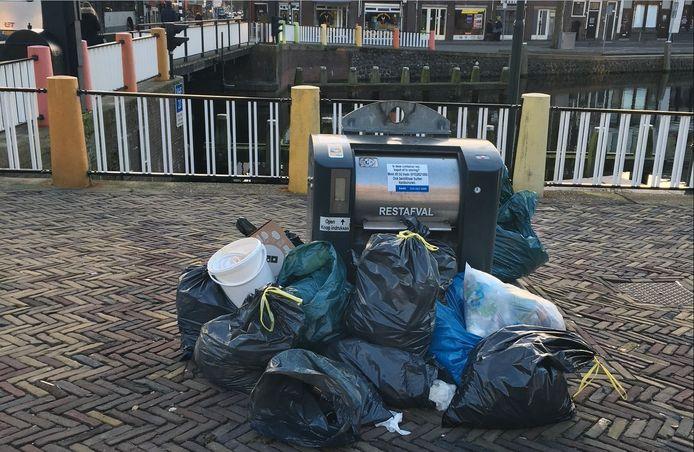 Ondergrondse afvalcontainers vervangen de stortkokers en gaan vanaf februari alleen open met een pasje.