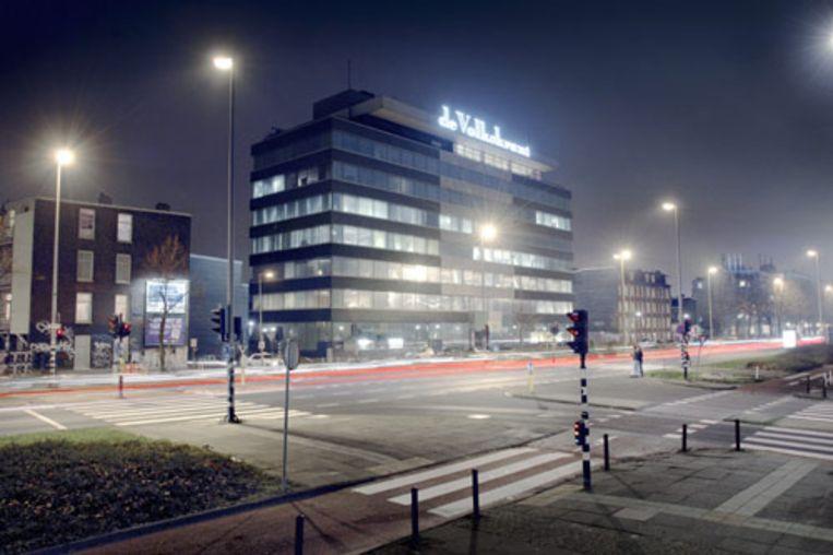 Gebouw van de Volkskrant aan de Wibautstraat. (Joost van den Broek/de Volkskrant) Beeld