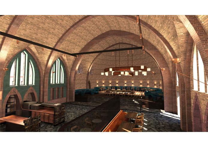 Zo ziet de kapel er straks van binnen uit.