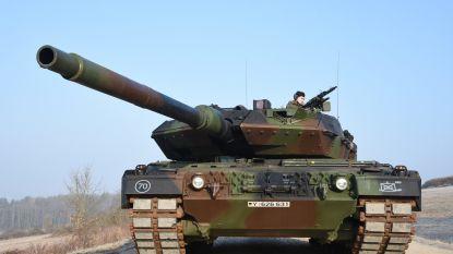 Duitse tanks rollen weer binnen (het is voor 21 juli)