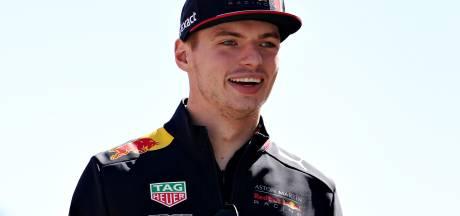 Max Verstappen wint eerste race tijdens Real Racers Never Quit