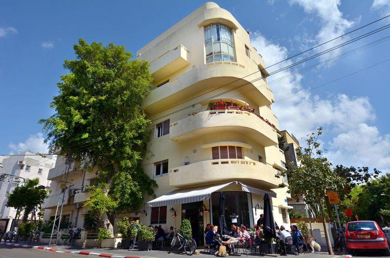 'Tel Aviv is de stad met de meester Bauhaus-gebouwen ter wereld' Beeld Chameleons Eye/REX Shutterstock/HH
