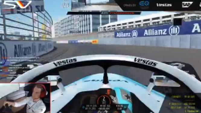 "Stoffel Vandoorne wint virtuele Formule E-race in New York: ""Eindelijk verzilver ik poleposition"""