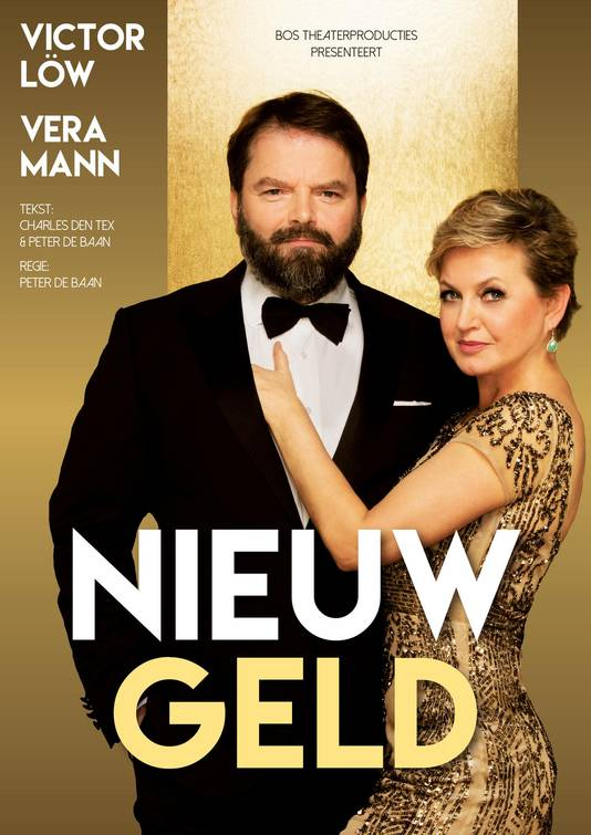 Victor Löw staat binnenkort met Vera Mann in de voorstelling Nieuw Geld.