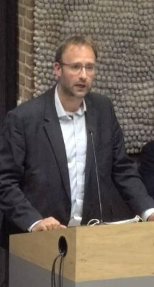 Wethouder Menno Roozendaal van Meierijstad.
