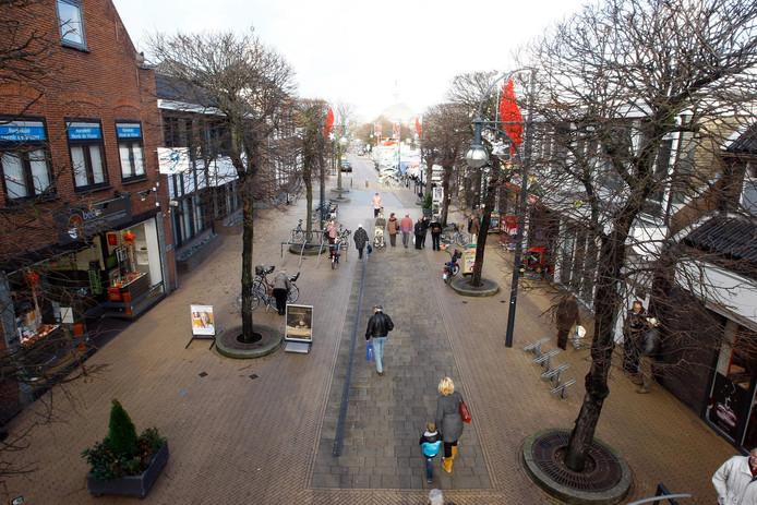 's-gravenzande langestraat winkelcentrum de koningswerf in het centrum (uit archief) AD Haagsche Courant Westland