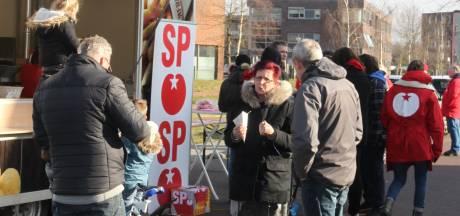 SP deelt gratis friet uit in Piekenhoef