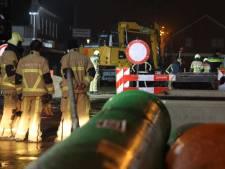 Brandweer rukt uit voor gaslek in Dorpsstraat Enter