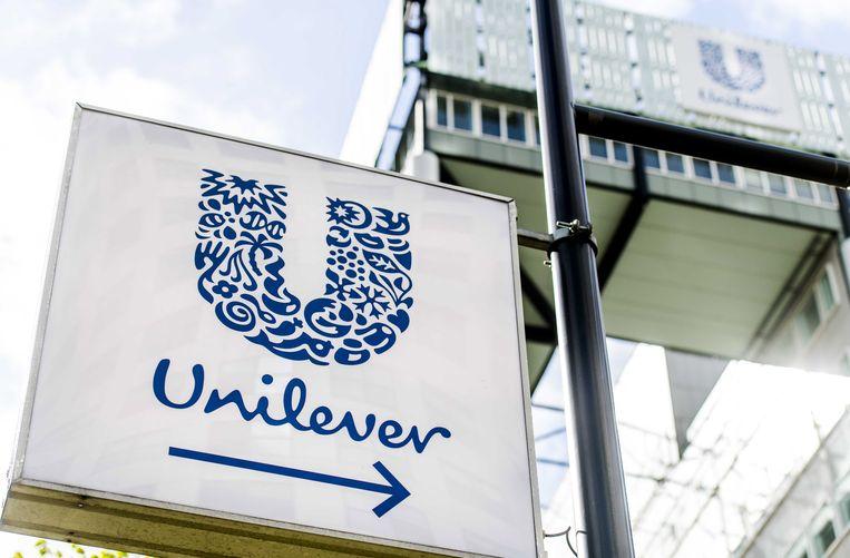 Het kantoor van Unilever in Rotterdam. Beeld EPA