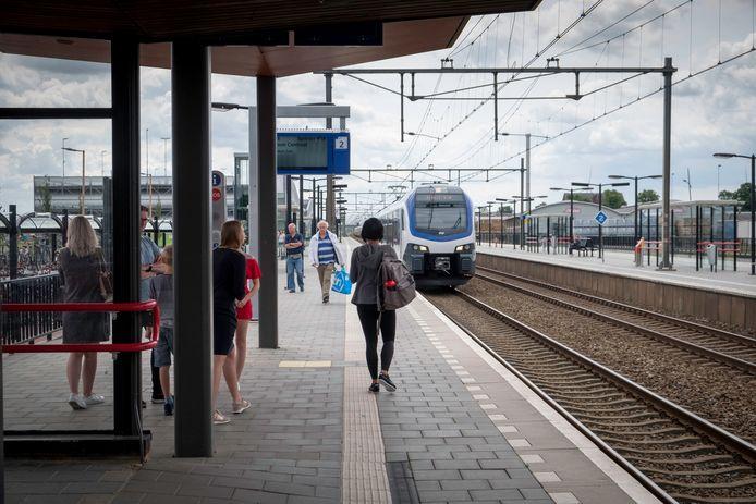 Archieffoto: Het station in Elst.