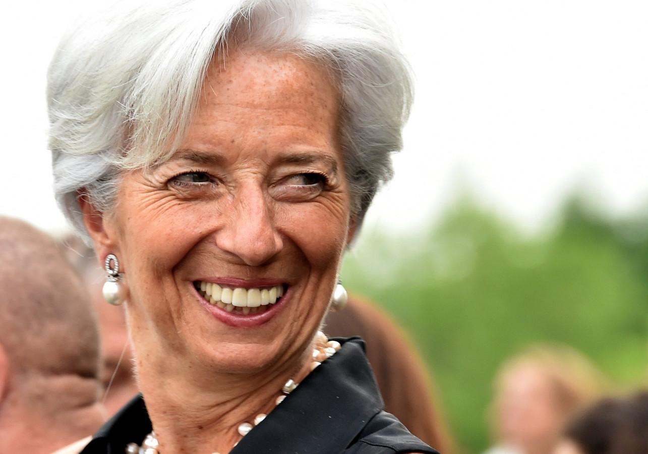 IMF-voorzitter Christine Lagarde.