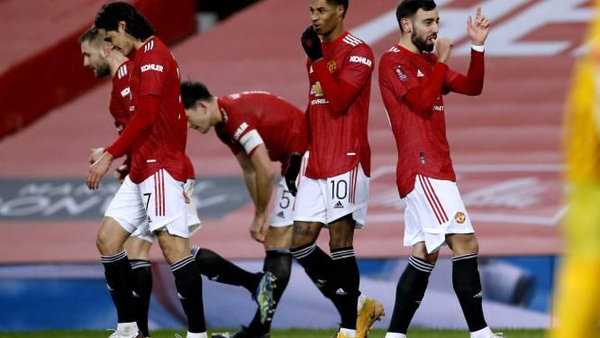 Liverpool geraakt niet uit sukkelstraatje: Manchester United wipt de Reds uit de FA Cup