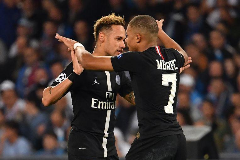 Neymar en Mbappé.