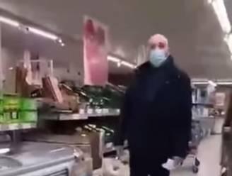 """Man gaat compleet door het lint in Aldi-filiaal: """"Hoe kunnen de klanten nu weten dat er geen jonagolds zijn?"""""""