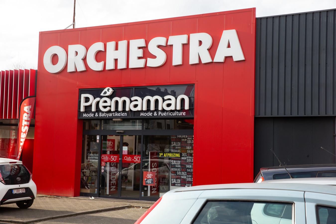 Un magasin Orchestra-Prémaman à Bruxelles.