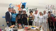 Up with People komt met 97 studenten van over heel de wereld Edegem op stelten zetten