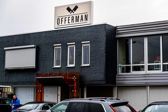 Exterieur vestiging vleeswarenleverancier Offerman