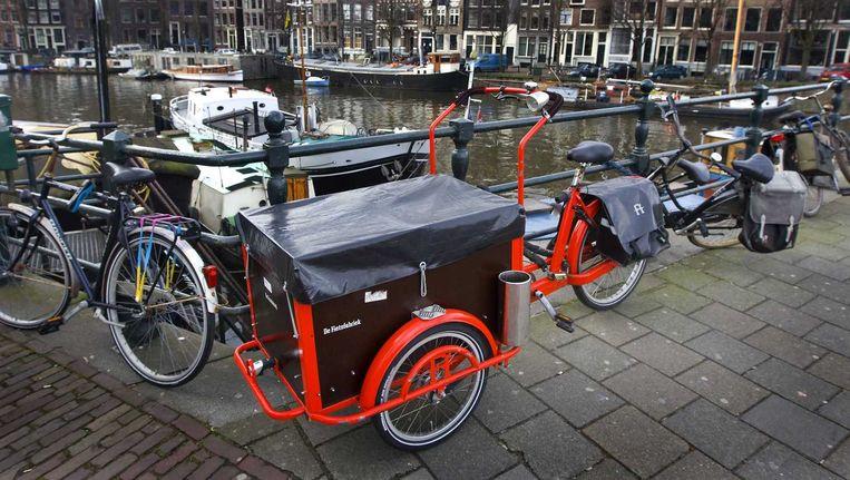 Veiligheidsdiensten waarschuwen voor een aanslag in Amsterdam met een bakfiets of fiets met explosieven rond oud en nieuw. Dat staat volgens het Parool in memo aan de Amsterdamse politie. Beeld anp