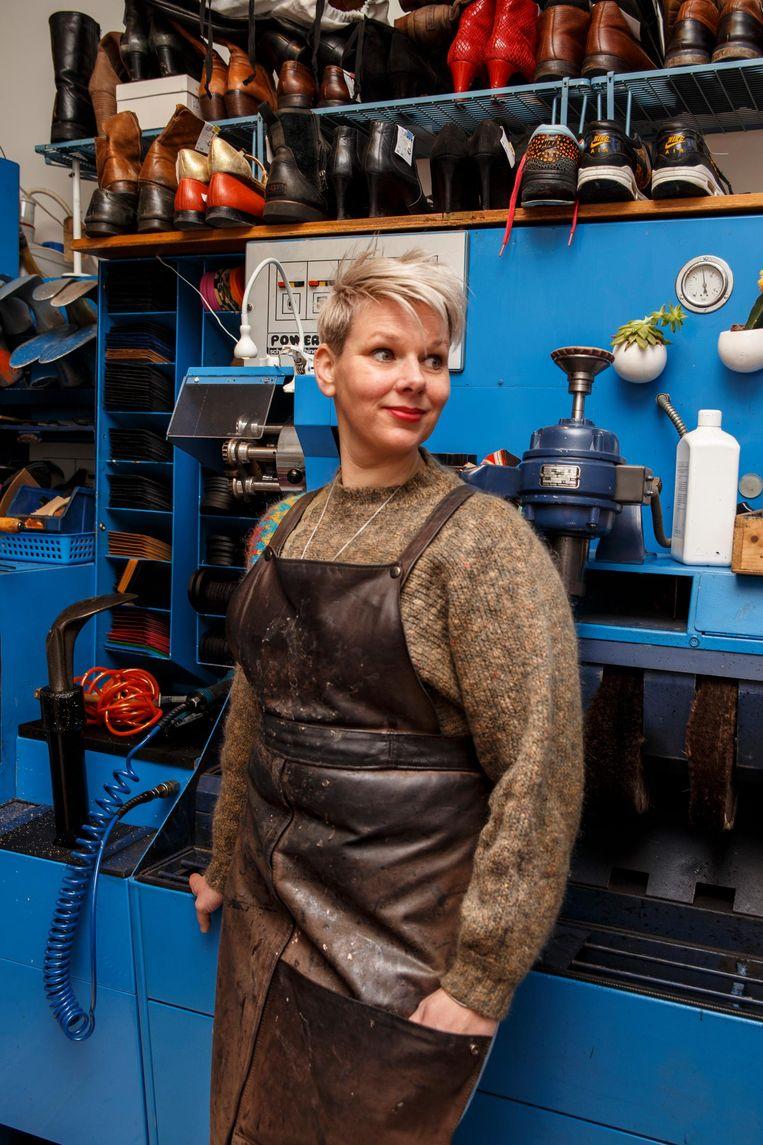 Mandy van der Lugt: 'Ik zei: ik kan altijd nog schoenmaker worden' Beeld Carly Wollaert