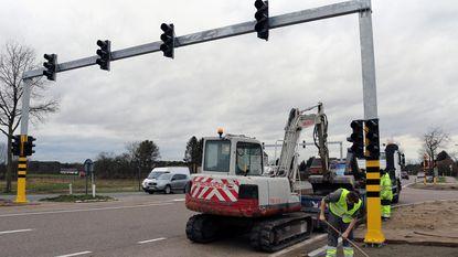 Verkeerslichten op dodelijk kruispunt