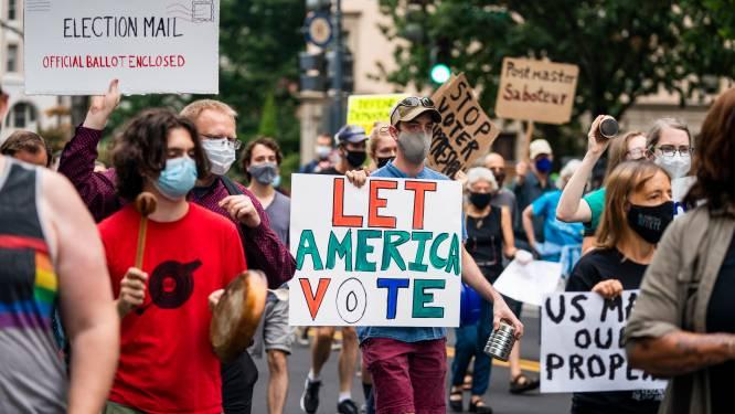 """Amerikaanse post vreest dat """"briefstemmen niet op tijd zullen aankomen voor presidentsverkiezingen"""", critici zien opzettelijke vertragingsmanoeuvres"""