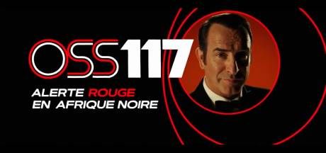 """Les premières images du très attendu """"OSS 117:Alerte rouge en Afrique noire"""""""