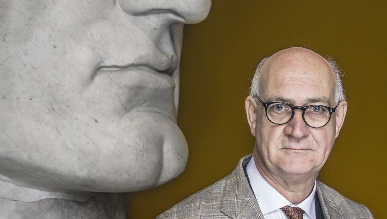 Gastconservator Eric Moormann, hoogleraar klassieke archeologie. Beeld Adrie Mouthaan