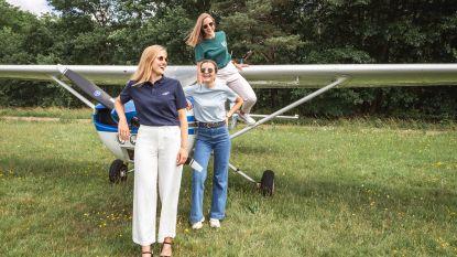 """Antwerpse stewardessen lanceren kledinglijn 'Nothing Plane': """"Liefde voor luchtvaart en duurzaamheid kan wél hand in hand gaan"""""""