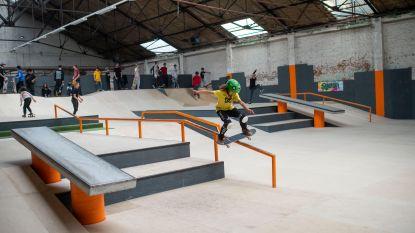 Eerste skatecontest in grootste indoor skatepark van België