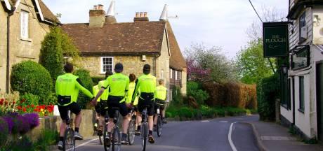 Londen-Millingen per eenwieler: pittige eerste etappe door heuvelachtig Engeland