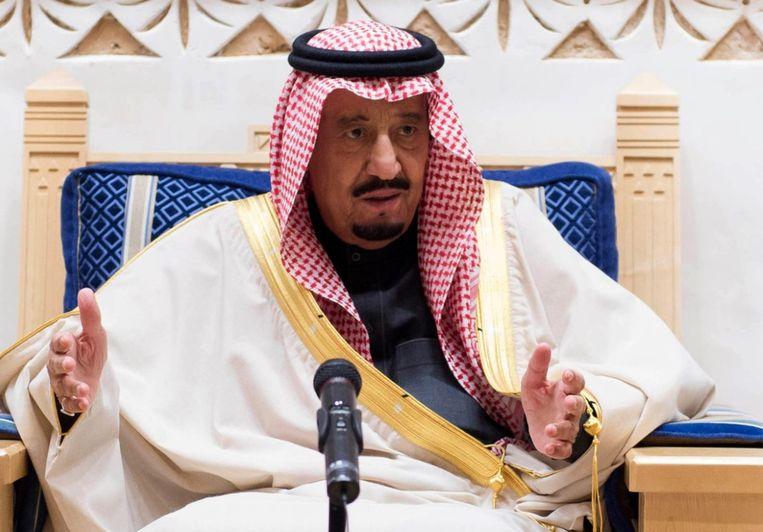 Bin Salman eerder deze maand. Beeld null
