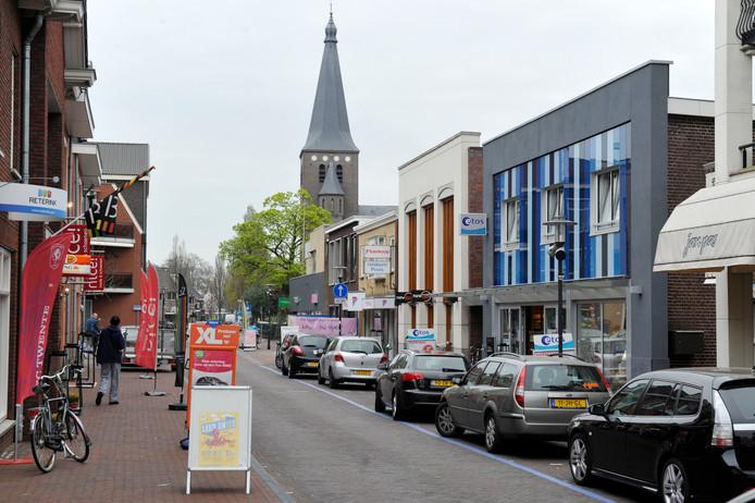 De leegstand van de winkels in het Wierdense dorpshart neemt toe.