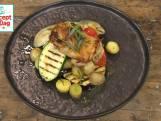 Kippendijen uit de oven in dragon-citrussaus