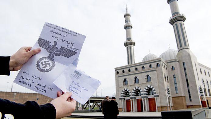 De Essalam moskee in Rotterdam ontving recent een dreigbrief.