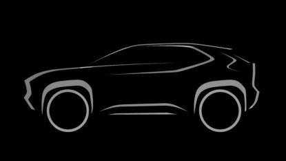 Toyota bevestigt compacte SUV op Yaris-basis