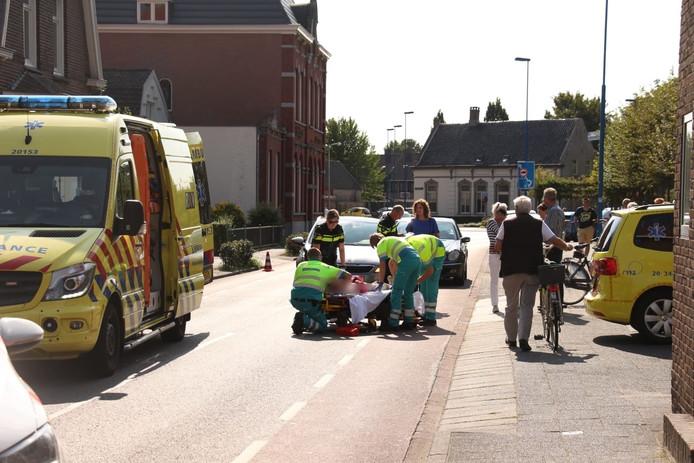 De plaats van het ongeluk in Dongen.