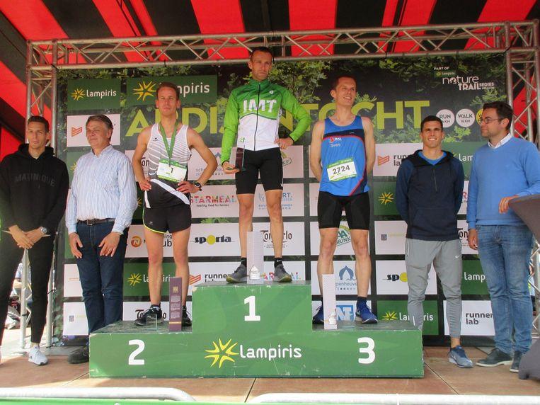 Bij de heren was Rik Thijs uit Retie de snelste.