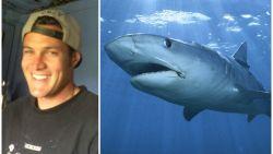 Hij waarschuwde zijn hele leven voor het gevaar van haaien en nu hebben ze hem zelf te pakken gekregen