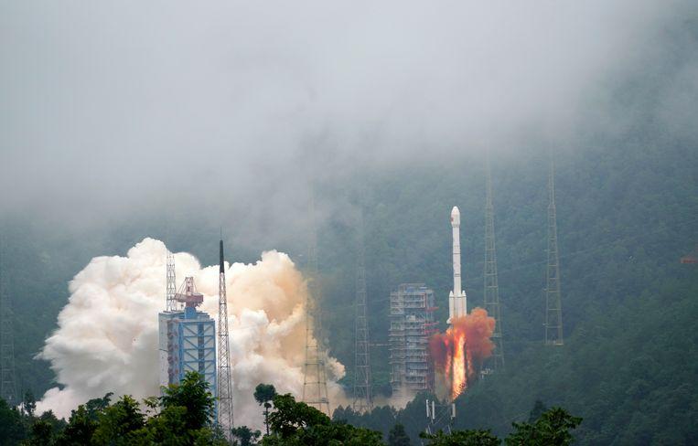De laatste satelliet die het project moet vervolledigen is vertrokken.