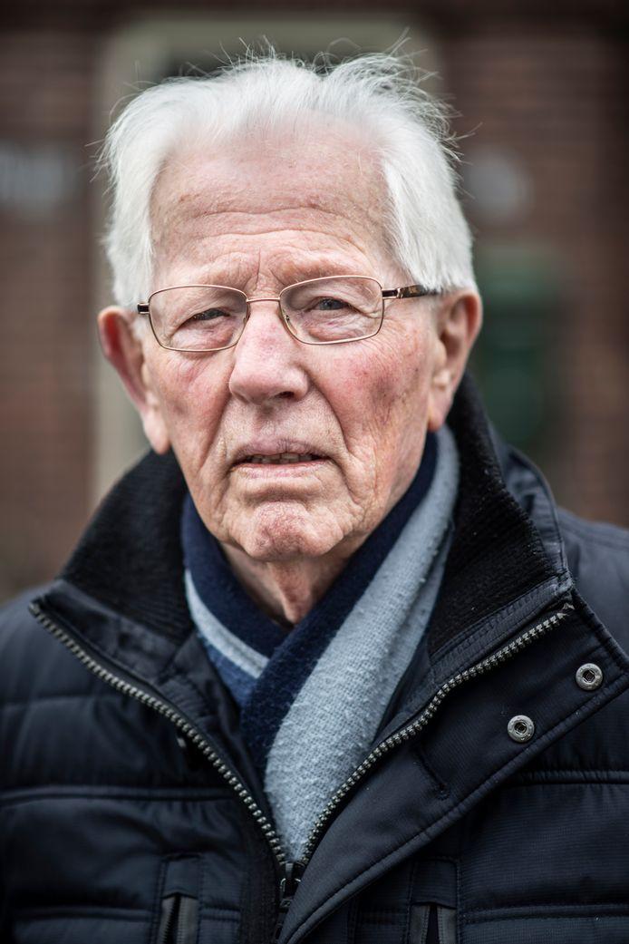 Wil Elbers wil niet langer zwijgen over het misbruik dat hem in de Tweede Wereldoorlog in Nijmegen is overkomen. foto Paul Rapp