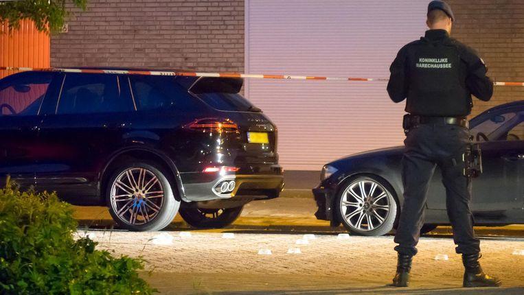 Jalink werd vrijdagavond neergeschoten toen hij van zijn huis naar zijn Porsche Cayenne liep. Beeld Reinder van Zaanen