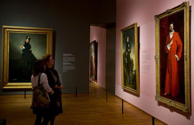 De portretten zijn gemaakt door de grote meesters uit de kunstgeschiedenis Beeld anp